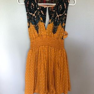 Free People Walking Dreams Fit and Flare dress